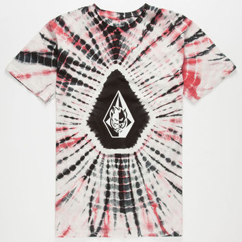 Volcom Spitfire Dye Mens T-Shirt Black  In Sizes