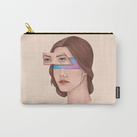 Made Of Stars Carry-All Pouch by marylobs