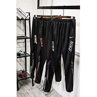 NIKE Men Fashion Print Sport Stretch Pants Trousers Sweatpants F-A-BM-YSHY