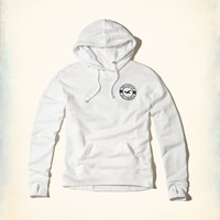 Girls Logo Graphic Hoodie | Girls Tops | HollisterCo.com