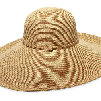 Belladonna Straw Hat, Gold, Hats