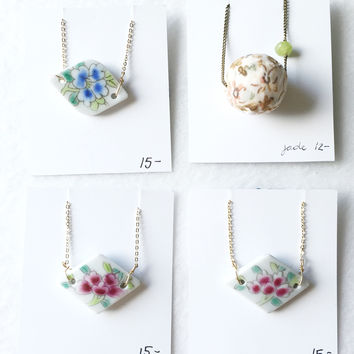 Flora necklace of your choice - trunk show