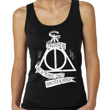 Deathly Hallows Harry Potter Clothing Women Tank Top T-shirt