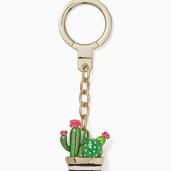 jeweled cactus keyfob
