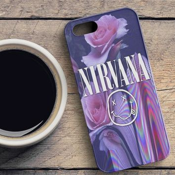 Nirvana Hipster Swag iPhone SE Case