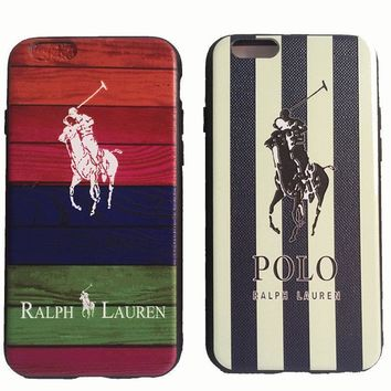 Fashion Brand Polo Ralph Laurens Phone Case Cover for iphone 6 6s 6Plus 7 7plus Soft P