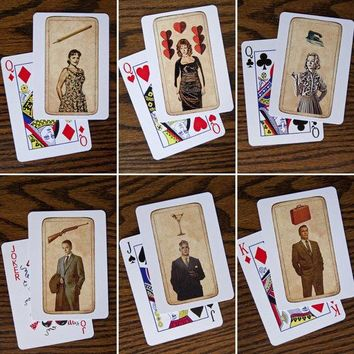 Mad Men Tarot Playing Cards