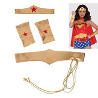 Wonder Woman Costume Accessory Kit 4pc