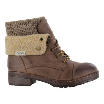 Brown Bring Leather Boot