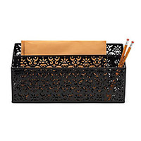 Realspace Brocade Desk Organizer Black by Office Depot