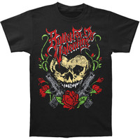 Bullet For My Valentine Men's  Heart Skull T-shirt Black Rockabilia