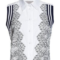 Cotton Shirting And Lace Trevor