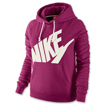 women 39 s nike rally futura pullover hoodie from finish line. Black Bedroom Furniture Sets. Home Design Ideas