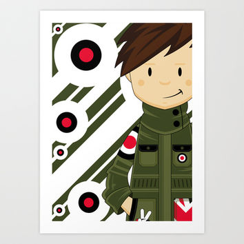Mod Illustration Art Print by markmurphycreative