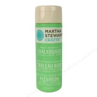 Martha Stewart Chalkboard Paint by Plaid Green 6 oz. Product Detail