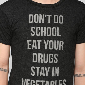 Don't Do School Tee - Urban Outfitters