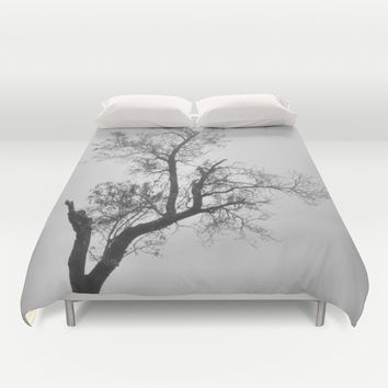 """Zen tree"" Duvet Cover by Guido Montañés"