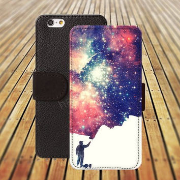 iphone 5 5s case Artificial cloud colorful iphone 4/4s iPhone 6 6 Plus iphone 5C Wallet Case,iPhone 5 Case,Cover,Cases colorful pattern L364