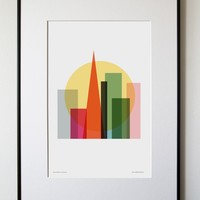 Rise and Shine, San Francisco Print