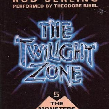The TWILIGHT ZONE The Monsters Are Due on Maple Street Audiobook Cassette