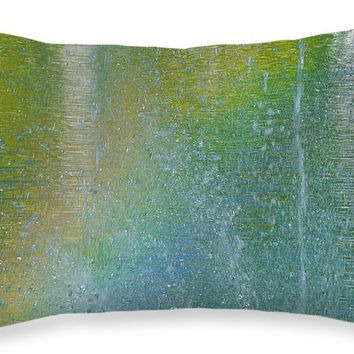 """Painted By Water And Light Throw Pillow for Sale by Ben and Raisa Gertsberg - 20"""" x 14"""""""