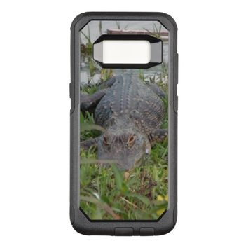 Aligator Photo OtterBox Commuter Samsung Galaxy S8 Case