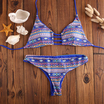 Aztec Bikini Set Beach Swimsuit Summer Gift 194