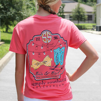 Simply Southern Tee - Bows + Boots