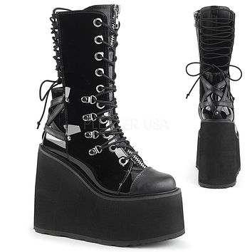 eb3db2cfd0d Swing 120 Black Calf Boot 5.5