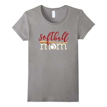 Softball Mom Shirt for women gift for team mother