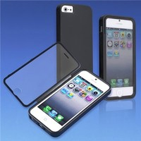 Dream Wireless Wrap-Up Case with Screen Protector for iPhone 5/5S - Retail Packaging - Black