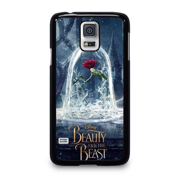 BEAUTY AND THE BEAST ROSE IN GLASS Samsung Galaxy S5 Case Cover