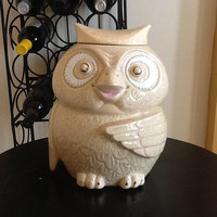 vintage McCoy Owl Cookie Jar