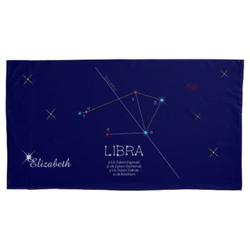 Constellation LIBRA unique, impressive Pillow Case