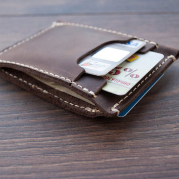 Front Pocket Wallet, Men's Leather Wallet, Minimalist Wallets, Groomsmen Gifts, Leather Wallets, Leather Credit Card Holder