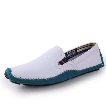 Genuine Comfortable Soft Leather Moccasins Shoes