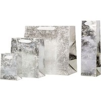 Crushed Silver Gift Bags