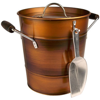 Oasis Ice Bucket, Antiqued Copper, Ice Buckets