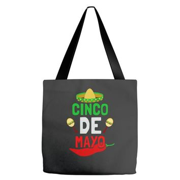 cinco de mayo fiesta mexican holiday Tote Bags