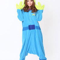 Kigurumi Shop | Little Green Man Kigurumi - Animal Costumes & Pajamas by Sazac