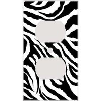 Amazon.com: Jagged Zebra Skin Print Decorative Outlet Cover: Home Improvement