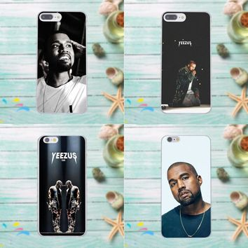 Transparent Cover Case For Apple iPhone 4 4S 5 5C SE 6 6S 7 8 Plus X For LG G3 G4 G5 G6 K4 K7 K8 K10 V10 V20 Kanye Omari West