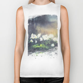 Rugged beauty Biker Tank by HappyMelvin