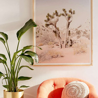 Wilder California Joshua Tree Art Print - Urban Outfitters