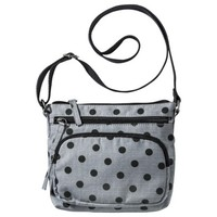 Mossimo Supply Co. Polka Dot Crossbody Handbag - Gray