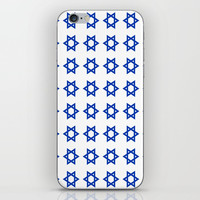 Star of David iPhone Skin by oldking