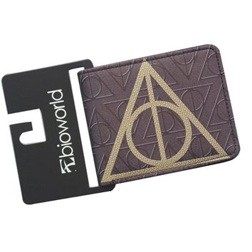 Wallets Harry Potter Purse Hogwarts Bifold Money Zipper Coins 3 Cards