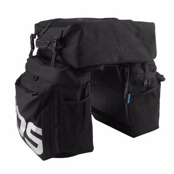ROSWHEEL MTB Mountain Bike Carrier Rack Bag 3 In 1 Multifunctional Road Bicycle Luggage Pannier Rear Seat Trunk Bag Brand new