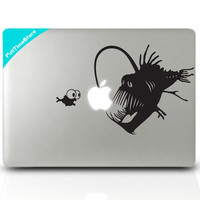 Lightfish  mac decal mac book mac book pro mac book air Ipad mac sticker
