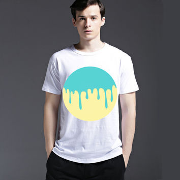 Summer Cotton Men's Fashion Short Sleeve Fashion Creative Tee Stylish Strong Character Casual T-shirts = 6451484611